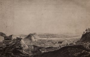 Переход русских войск через реку Неман. Копия с гравюры