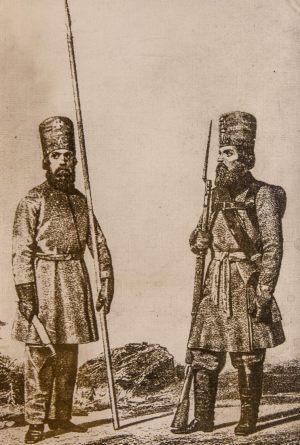 Форма одежды Владимирских ополченцев. Фотокопия