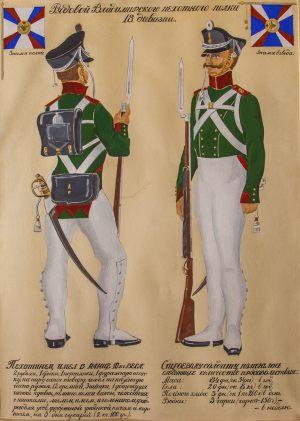 Рядовой Владимирского пехотного полка 18 дивизии