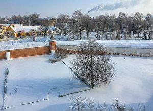 Колокольня. Вид со смотровой площадки на Юрьев-Польский