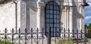 Георгиевский собор. Летнее фото. Северный портал. Юрьев-Польский музей