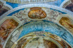 Средний пояс росписи. Барабан и купол. Георгиевский собор. Юрьев-Польский музей