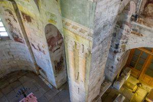 Фото из-под купола. Георгиевский собор. Юрьев-Польский музей