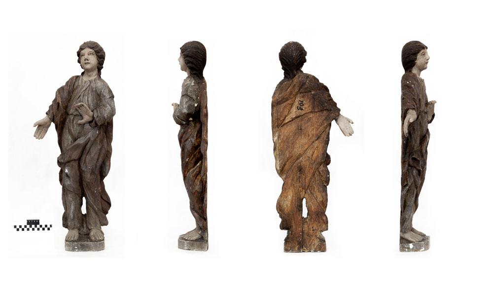 Скульптура. Мужская фигура из композиции