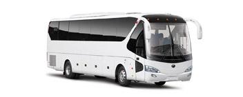 C автобуса