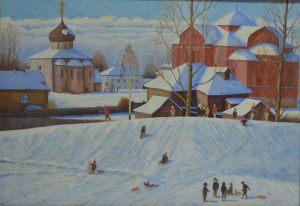 Сачков С.Е. Зима