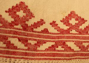 Орнамент женской холщовой рубашки
