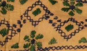 Орнамент мужской холщовой рубашки