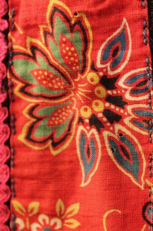 Орнамент распашного косоклинного сарафана