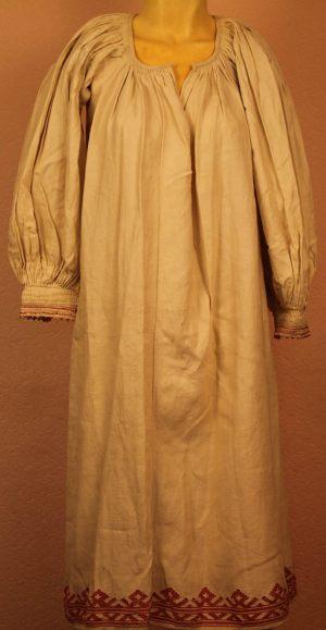 Рубашка женская холщовая