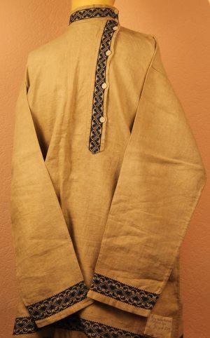Рубашка мужская косоворотка холщовая