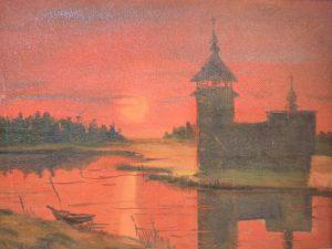 Алексеев В. Вечерний пейзаж