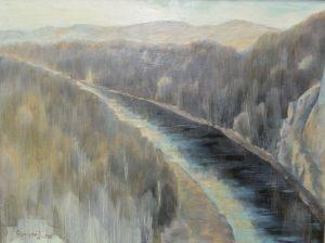 Бароха И.Н. Река (передана нашему музею Московской галереей «Союз Творчество»)