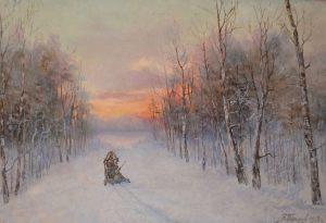 Петров. Зима