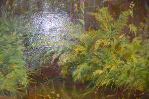 Романов В.О. Лесной ручей (передана нашему музею Московской галереей «Союз Творчество» )