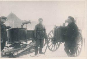 Военно-полевые кухни, изготовитель – завод «Промсвязь»